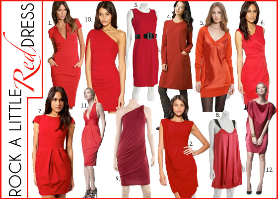 National Wear a Little Red Dress Day | Melissa Meyers
