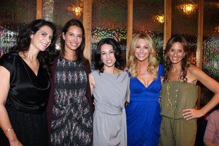 Lyss Stern, Christy Turlington, Moms & the City
