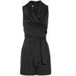 Buy Stretch Silk-Satin Playsuit by Catherine Malandrino, $375