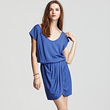 "Buy Soft Joie ""Darrah"" Scoopneck Draped Dress, $138"