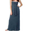 Buy Cotton Mesh and Chambray Stripe Dress, $121