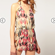 Buy ASOS Strappy Back Playsuit, $60