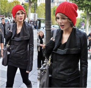 Taylor Swift Red Beanie