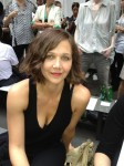 Maggie Gyllenhaal front row at rag & bone.