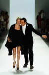 Zang Toi and his muse, Julie Macklowe.