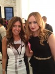 Kaylee DeFer from Gossip Girl with Melissa.