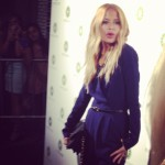 Rachel Zoe at the Piperlime store opening.