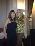 Sonja Morgan and Melissa together at Star Lounge.