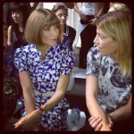 Anna Wintour and Dani Stahl at rag & bone.