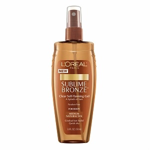 Larger image Loreal SubBrnzClr SlfTn Gel 5z visit- L'Oreal Store Email a friendemail L'Oreal Sublime Bronze Clear SelfTanning Gel for Body